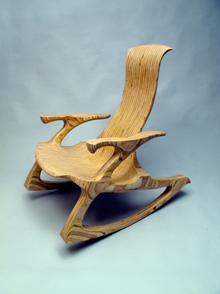 sculpted rocking chair plans